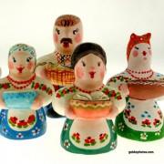 Ostern, Bauer, Bäurin, Ukraine