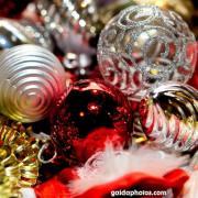 Weihnachten, Weihnachtskugeln