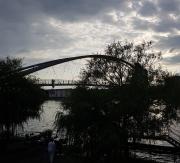 Rhein, Dreiländerbrücke, Oberrhein