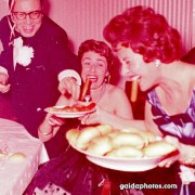 Party, lustig, Wurst, 1960er