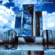 Spiegelung, Gebäude, Hochhaus, Architektur