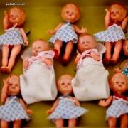 Puppe, Baby, 1950er