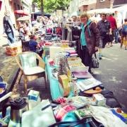 Flohmarkt, Trödelmarkt, Straßenmarkt
