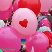 Herz, Ballon, Liebe, Valentinstag, Ich liebe Dich