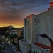 Sonnenuntergang, Riccione