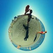 Riccione, Strand, Adria, Little Planet