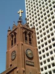 Kirche, Hochhaus, Architektur, Gebäude, San Francisco, USA, Kalifornien