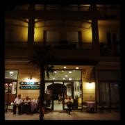 Hotel Baden Baden bei nacht
