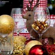 Weihnachten, Weihnachtskugel, Elch