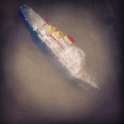 Dampfer in Seenot