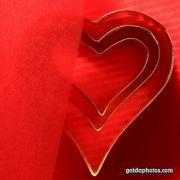 Herz, rot