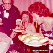1950er, Wurst, Party, lustig