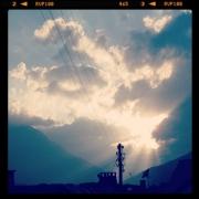 Himmel über der Schweiz