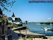 Köln-Rodenkirchen, Kapelle, Rhein