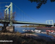 Köln-Rodenkirchen, A4, Autobahnbrücke, Brücke, Bauwerk, Rhein,