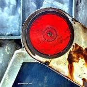 Industrie, Maschinen, rot, Struktur, Technik