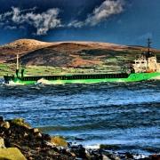 Irland, Küste, Schiff