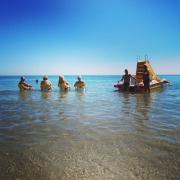 Relaxen im Meer