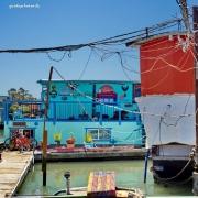 Boot, Hausboot, Hippie, Kalifornien, USA