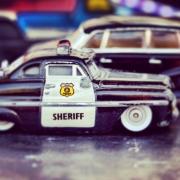 Fahrzeug, Auto, KFZ, Polizei, Sheriff, Spielzeug, Streifenwagen
