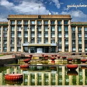 Ukraine, Donbass, Donetzk, Gebäude, Architektur