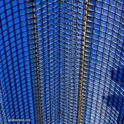 Struktur, Dach, blau, Architektur