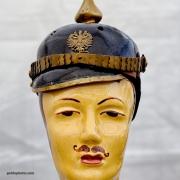 Mann, Kopf, Offizier, Soldat, Kaiserzeit, Porzellan