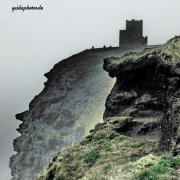 Cliffs of Moher, Irland, Nebel, Küste, Meer