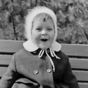 Mädchen, 1960er, Lachen, lustig