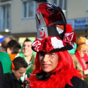 Rodenkirchen, Köln, Karneval, Frau