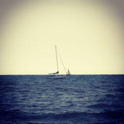 Boot, Segelboot, Meer