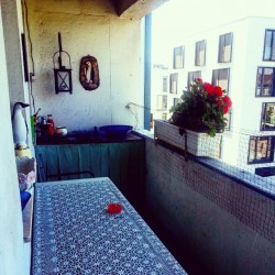 Balkon, Frühling