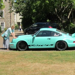 Porsche türkis