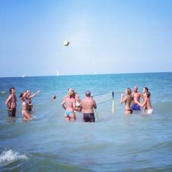 Wasserspiele in der Adria