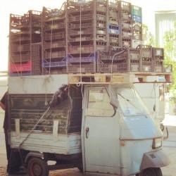 gewagter Transport