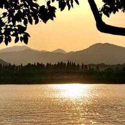 Sonnenuntergang, China